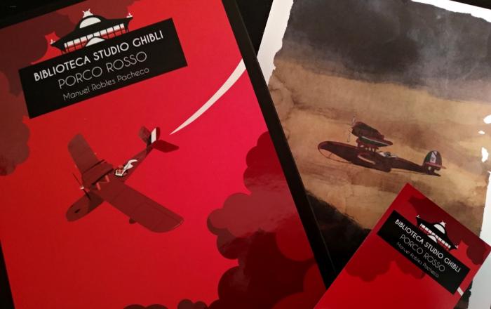 'Biblioteca Studio Ghibli Porco Rosso', de Manu Robles Galería 1 - El Palomitrón