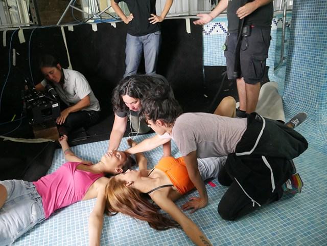 Carmen y Lola- actrices- El Palomitrón