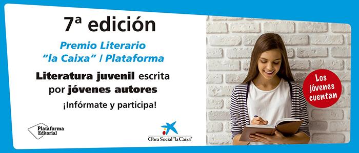 BANNER PROMOCIONAL CONVOCATORIA PREMIO LITERARIO PLATAFORMA 2018 - EL PALOMITRÓN