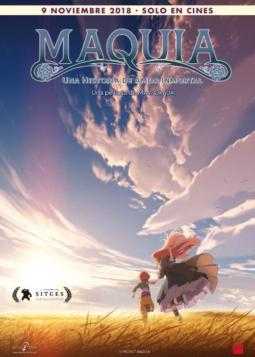 fecha de estreno de Maquia en España póster promocional - El Palomitrón