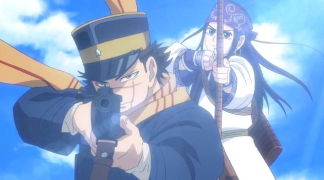 segunda temporada de Golden Kamuy Asirpa y Sugimoto - El Palomitrón