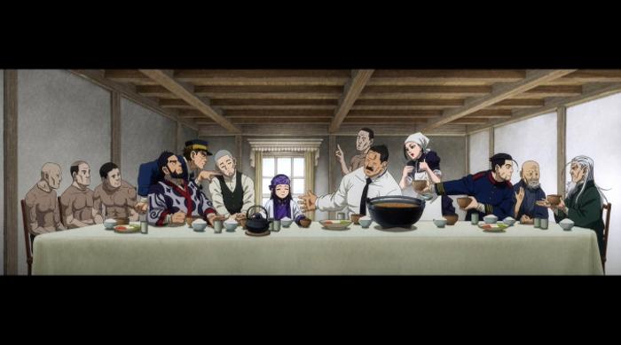 segunda temporada de Golden Kamuy la última cena - El Palomitrón