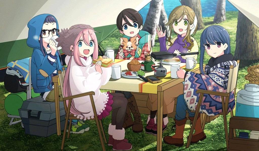 Resultado de imagen para yuru camp season 2