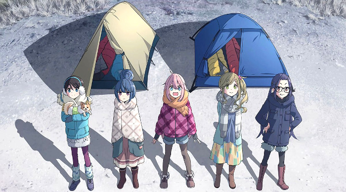 segunda temporada de Yuru Camp y una película animada principal - El Palomitrón