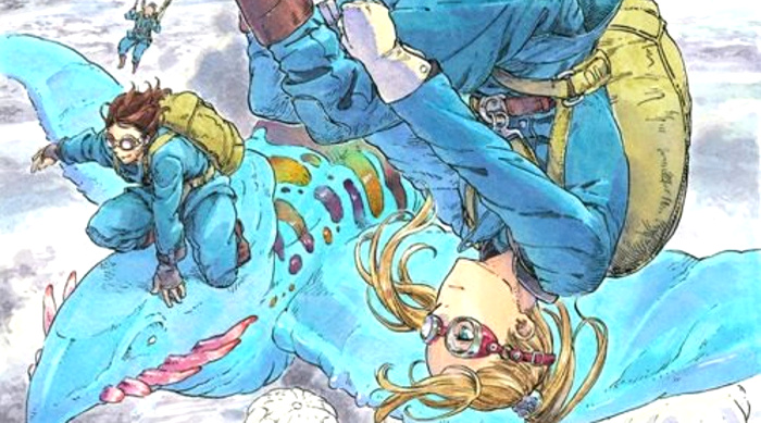 Drifting Dragons #1, de Taku Kuwabara Mika Varni principal - el palomitron