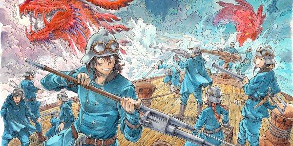 Drifting Dragons #1, de Taku Kuwabara destacada - el palomitron
