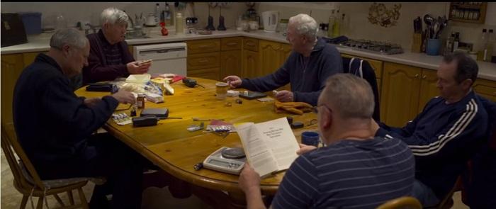 Película Rey de ladrones con Michael Caine - El Palomitrón