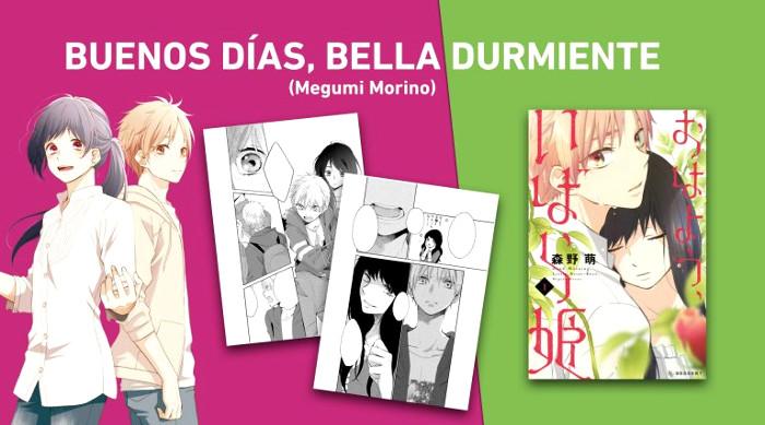 licencias Norma Editorial XXIV Salón del Manga de Barcelona Buenos dias bella durmiente - el palomitron