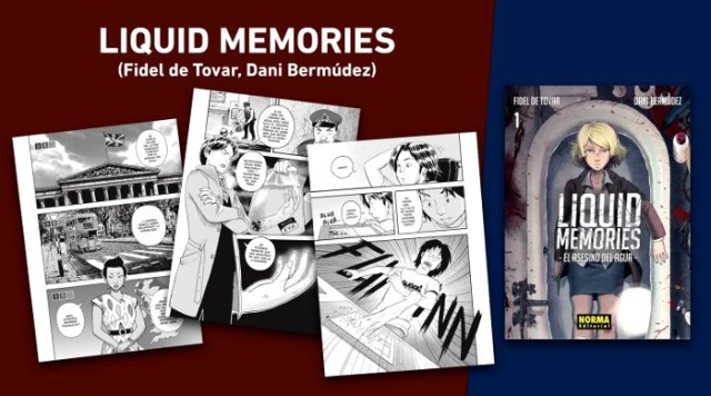 licencias Norma Editorial XXIV Salón del Manga de Barcelona Liquid Memories - el palomitron