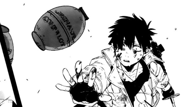 scanlations en la industria del manga Gangsta nic - el palomitron