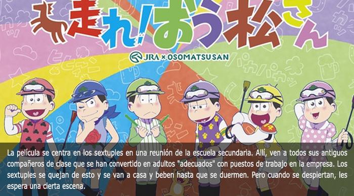 Guía de anime invierno 2019 Osomatsu-san - El Palomitrón