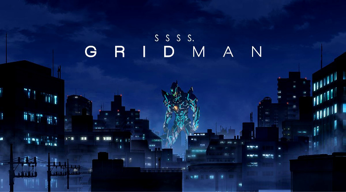 Los mejores animes de 2018 SSSS Gridman - el palomitron