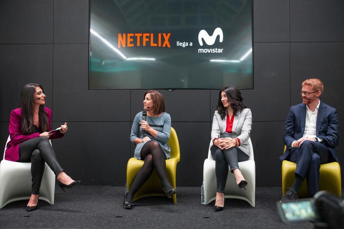 Rueda prensa Netflix Movistar - El Palomitron