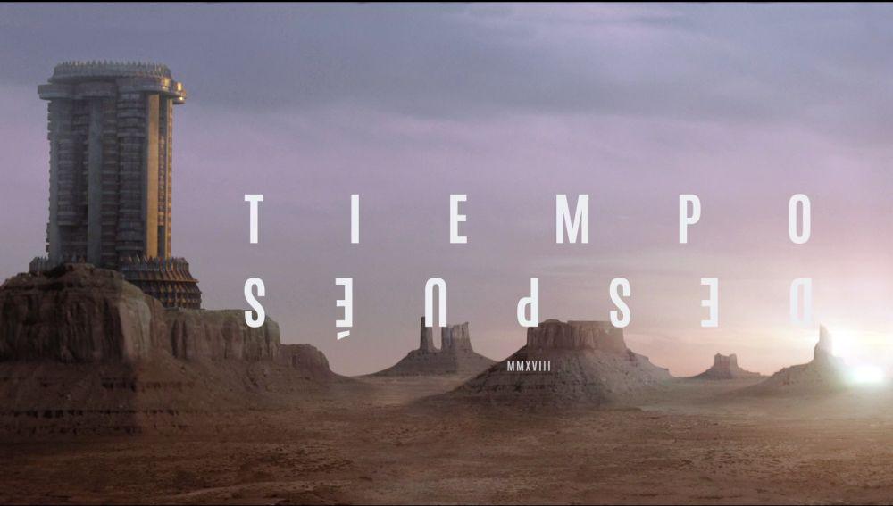 Tiempo después cartel - El Palomitron
