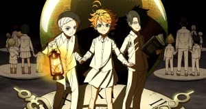 anime de The Promised Neverland Emma, Norman y Ray - El Palomitrón