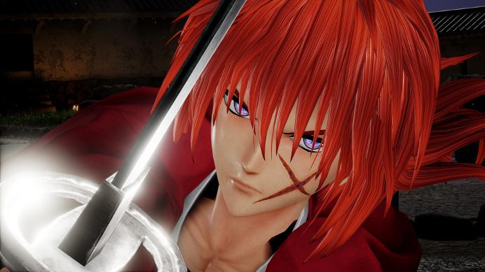 personajes Jump Force Kenshin - el palomitron