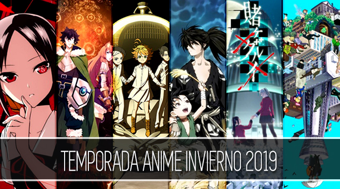 Banner Temporada anime invierno 2019 (lateral) - El Palomitrón