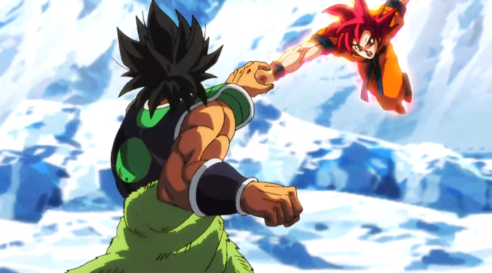 Crítica de Dragon Ball Super Broly Goku vs Broly - el palomitron
