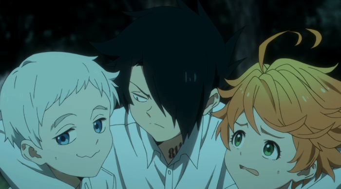 Crítica del anime de The Promised Neverland Norman Ray Emma - el palomitron