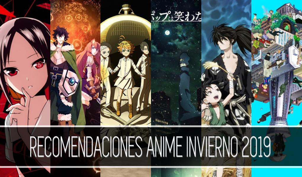 Recomendaciones anime invierno 2019 destacada - El Palomitrón