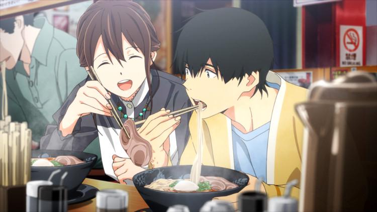 Crítica de Quiero comerme tu páncreas Sakura y Haruki comiendo - El Palomitrón