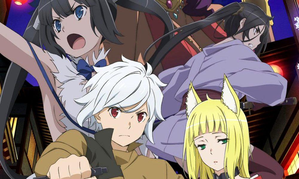 Fecha de estreno de la segunda temporada de Danmachi destacada - El Palomitrón