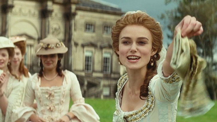 Filmografía Keira Knightley La Duquesa - El Palomitrón