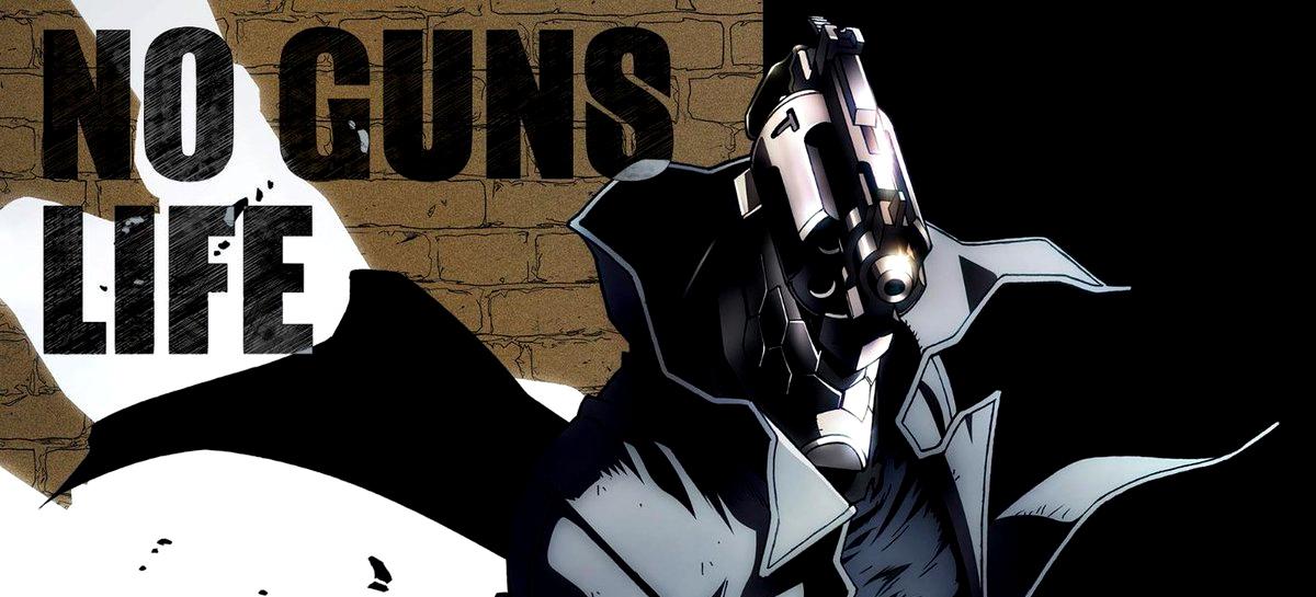 tráiler del anime de No Guns Life destacada - el palomitron