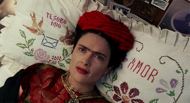 Frida biopic pintores - El Palomitrón
