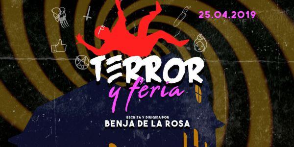 CARTEL TERROR Y FERIA - EL PALOMITRÓN