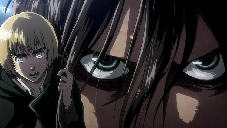 Crítica de Shingeki no Kyojin 3x17 Armin - el palomitron