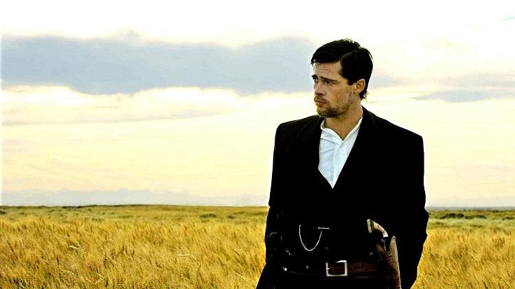 mejores westerns del siglo XXI Brad Pitt + El asesinato de Jesse James por el cobarde Robert Ford + El Palomitrón