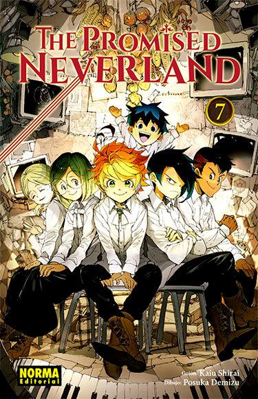 Reseña de The Promised Neverland #7 portada - El Palomitrón
