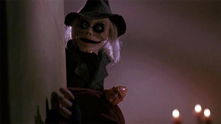 los muñecos más terroríficos del cine. El amo de las marionetas El Palomitrón