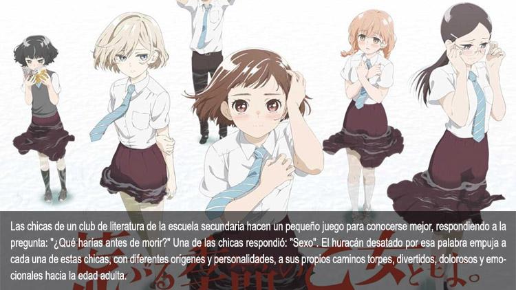 Guía de anime verano 2019 Araburu - el palomitron
