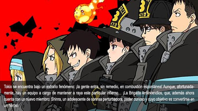Guía de anime verano 2019 Fire Force - el palomitron