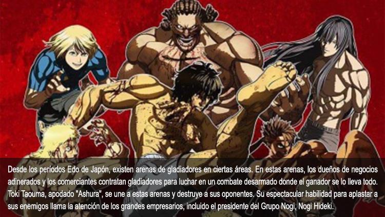 Guía de anime verano 2019 Kengan Ashura - El Palomitrón