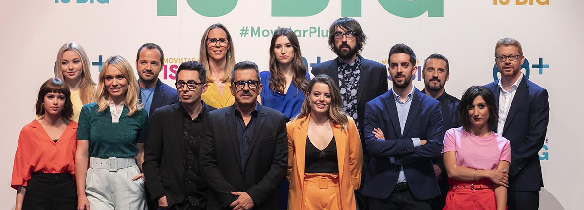 MOVISTAR + LITE PHOTOCALL - EL PALOMITRÓN