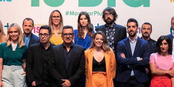 MOVISTAR + LITE PHOTOCALL - EL PALOMITRÓN