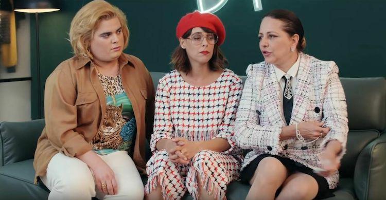 Maria Rosa Cobo Paquita Salas.Vuelve Paquita Salas 3ª Temporada El Palomitron