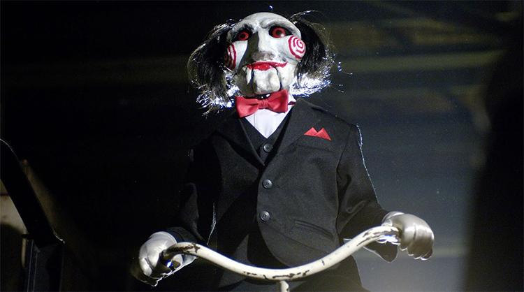 los muñecos más terroríficos del cine. Saw El Palomitrón