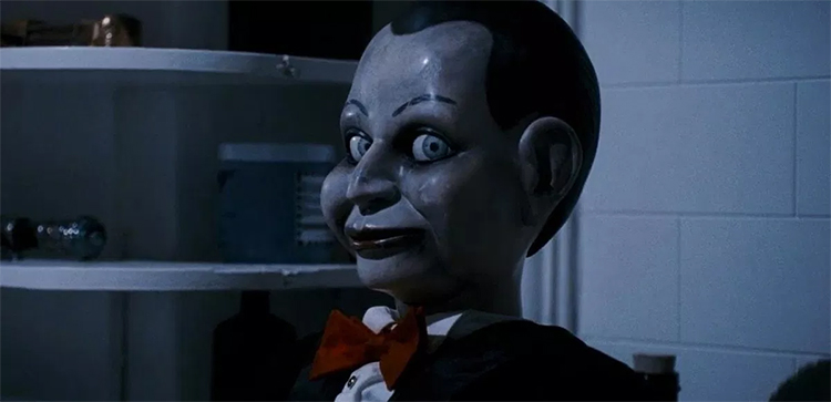 los muñecos más terroríficos del cine. Silencio desde el mal El Palomitrón