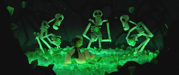 El pan de la guerra, esqueletos, EL PALOMITRÓN