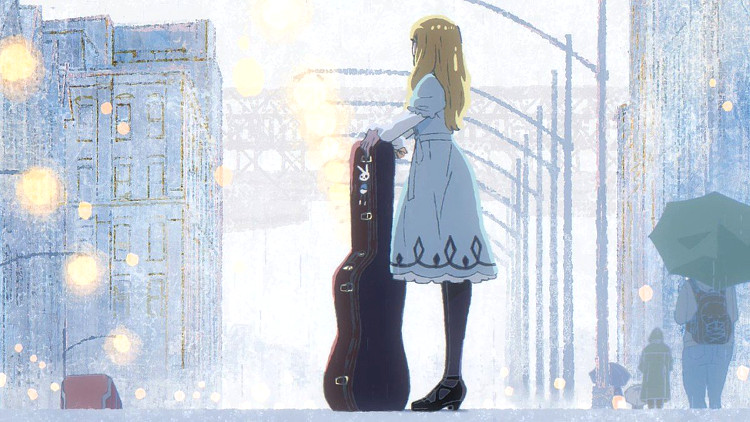 Carole & Tuesday en Netflix Tuesday guitarra - El Palomitrón