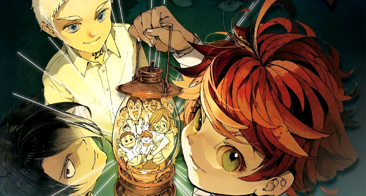 Catálogo Manga Plus The Promised Neverland - El Palomitrón