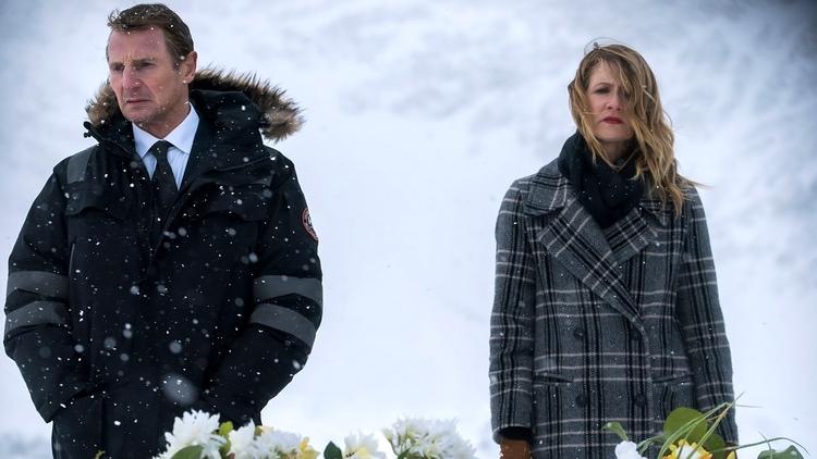 Venganza bajo cero, Liam Neeson, Laura Dern, EL PALOMITRÓN