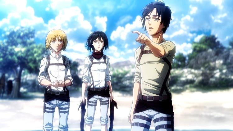 cuarta temporada de Shingeki no Kyojin se estrenará en 2020 Eren, Mikasa y Armin - El Palomitrón