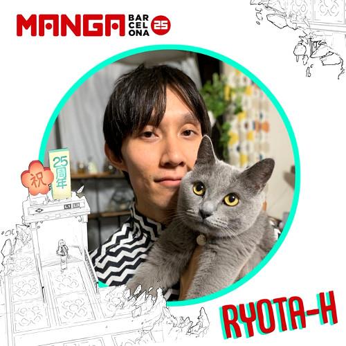 Autores invitados al Manga Barcelona 25 Ryota H - El Palomitrón
