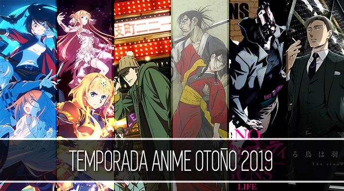 Banner lateral Temporada anime otoño 2019 - El Palomitrón