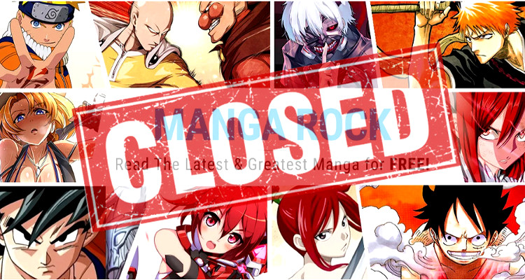 Cierra Manga Rock, portal de manga online ilegal manga rock - el palomitron